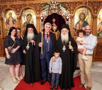 Ο εσπερινός της εορτής του Αγίου Παντελεήμονος στην Ιερά Μονή Παναγίας Δοβρά Βεροίας