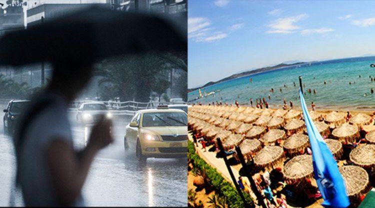 Παρασκευοσαββατοκύριακο: Αρχικά καύσωνας και στη συνέχεια καταιγίδες, ισχυροί άνεμοι και χαλαζοπτώσεις