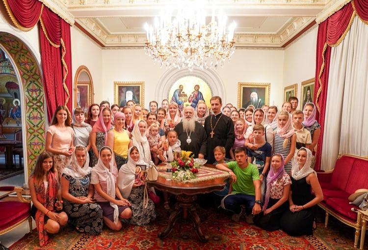 Επίσκεψη 60 νέων της Ιεράς Μητροπόλεως Βίνιτσας της Ουκρανίας στη Βέροια