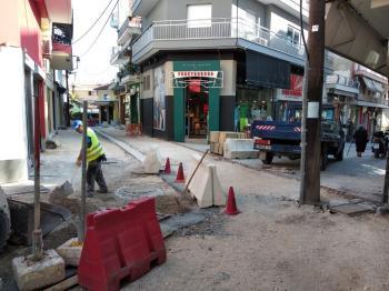 Κώστας Βοργιαζίδης : «Με γοργούς ρυθμούς η ανάπλαση των πεζοδρόμων»