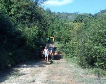 Συνεργασία Πυροσβεστικής και δήμου Βέροιας στο άλσος «Παπάγου»